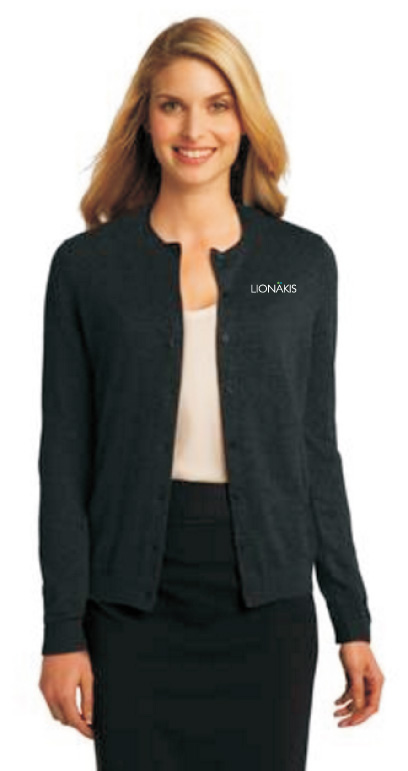 Apparel Ladies Outerwear Port Authority Ladies Cardigan Sweater